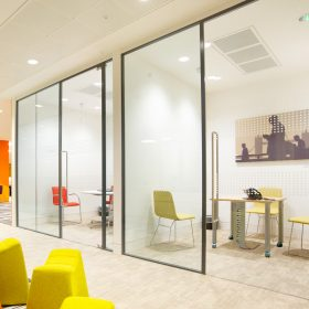 Sliding Glass Office Doors
