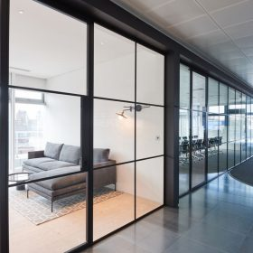 AKQA Glass Partitioning