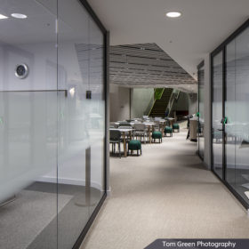 Project: The Health Foundation | Product: Revolution 54 with Edge Affinity door