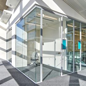 Access Control Glass doors