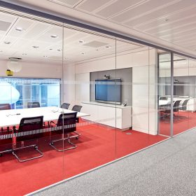Optima 117 Single Glazed Partition