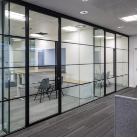 Project: State Street Bank | Product: Revolution 54 Shoreditch Edition with Edge Symmetry doors